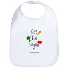 Kiss the Vegan Bib