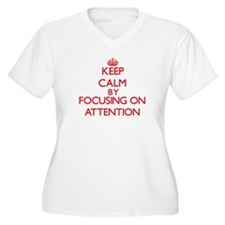 Attention Plus Size T-Shirt