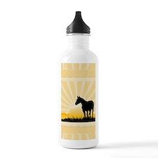 Western Horse Water Bottle