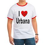 I Love Urbana Ringer T