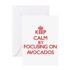 Avocados Greeting Cards