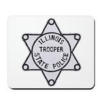 Illinois State Police Mousepad