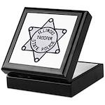 Illinois State Police Keepsake Box