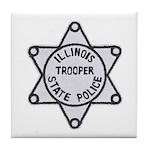 Illinois State Police Tile Coaster