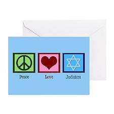 Blue Jewish Greeting Cards (Pk of 20)