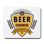 Beer Church Mousepad