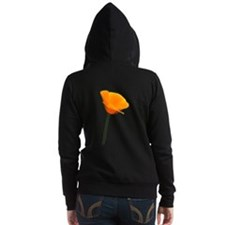 California Poppy Women's Zip Hoodie