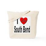 I Love South Bend Tote Bag