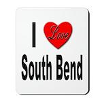 I Love South Bend Mousepad
