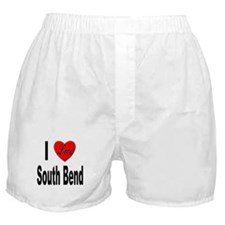 I Love South Bend Boxer Shorts
