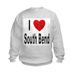 I Love South Bend Kids Sweatshirt