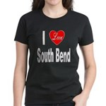 I Love South Bend (Front) Women's Dark T-Shirt