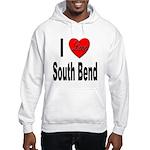 I Love South Bend Hooded Sweatshirt