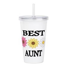 Best Aunt Acrylic Double-wall Tumbler