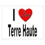 I Love Terre Haute Small Poster