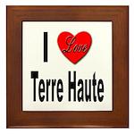 I Love Terre Haute Framed Tile
