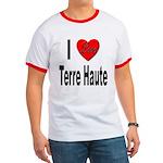 I Love Terre Haute Ringer T