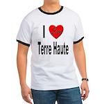 I Love Terre Haute (Front) Ringer T