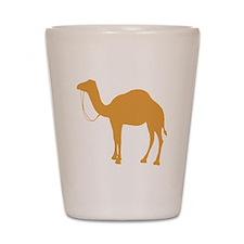 Brown Camel Shot Glass
