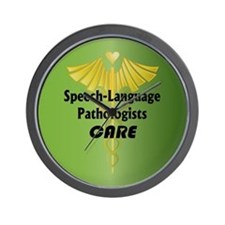 Speech-Language Pathologists Care Wall Clock