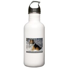 Funny December Water Bottle
