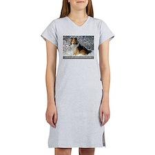 Cute Shelty Women's Nightshirt