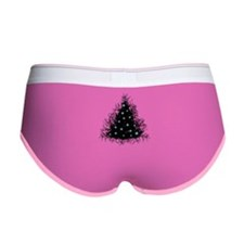 Bare Branches Holiday Tree Women's Boy Brief