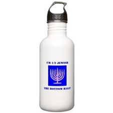 Funny Half Jewish the Water Bottle