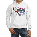 Tennis is a matter ... Jumper Hoody