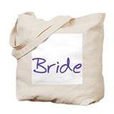 Casual Bride Tote Bag