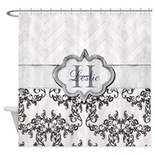 Cute Personalized christmas decor Shower Curtain