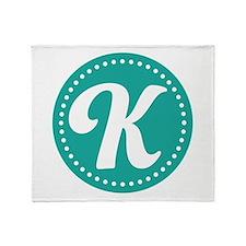 Letter L Throw Blanket
