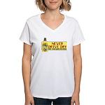 Never Drive Dry Women's V-Neck T-Shirt