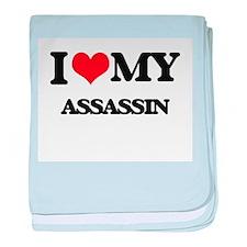 I love my Assassin baby blanket