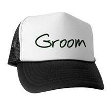 Casual Groom Trucker Hat