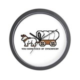 Cute Dysentery Wall Clock