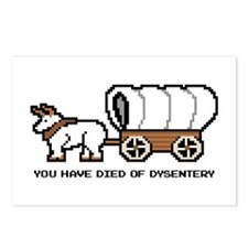 Cute Oregon trail Postcards (Package of 8)