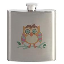 Hoot Owl Flask