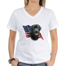 Black Lab Flag Shirt