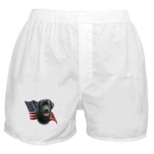 Black Lab Flag Boxer Shorts