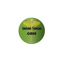 Ophthalmic Technicians Care Mini Button (100 pack)