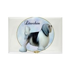 Lowchen Portrait Rectangle Magnet