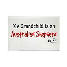 Aus Shepherd Grandchild Rectangle Magnet