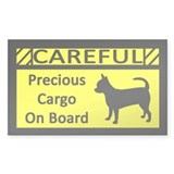 Precious Cargo Chihuahua Sticker (Rect)