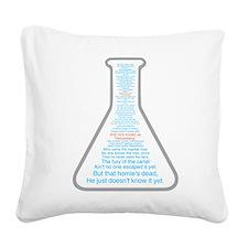 Breaking Bad Beaker Square Canvas Pillow