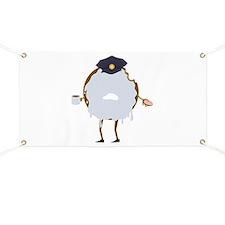 Cop Donut Banner