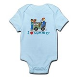 Jewish Kids Love Summer Onesie