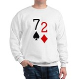 Beer Hand 7-2 Seven Deuce Poker Shirt Jumper