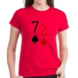 Beer Hand 7-2 Seven Deuce Poker Shirt Tee
