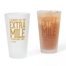 Community TV Extra Mile Drinking Glass